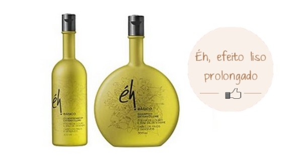 éh - Shampoo efeito liso prolongado